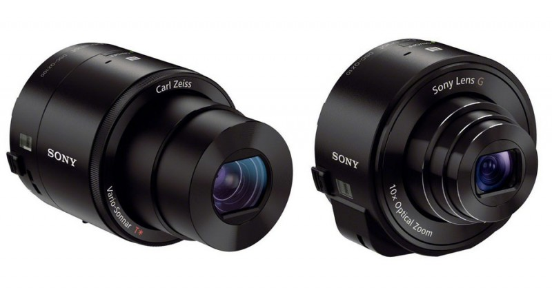 Sony QX10 QX100 Lens Camera