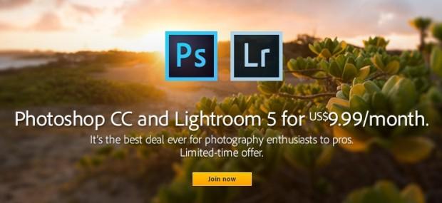 Adobe photoshop lightroom 9.99