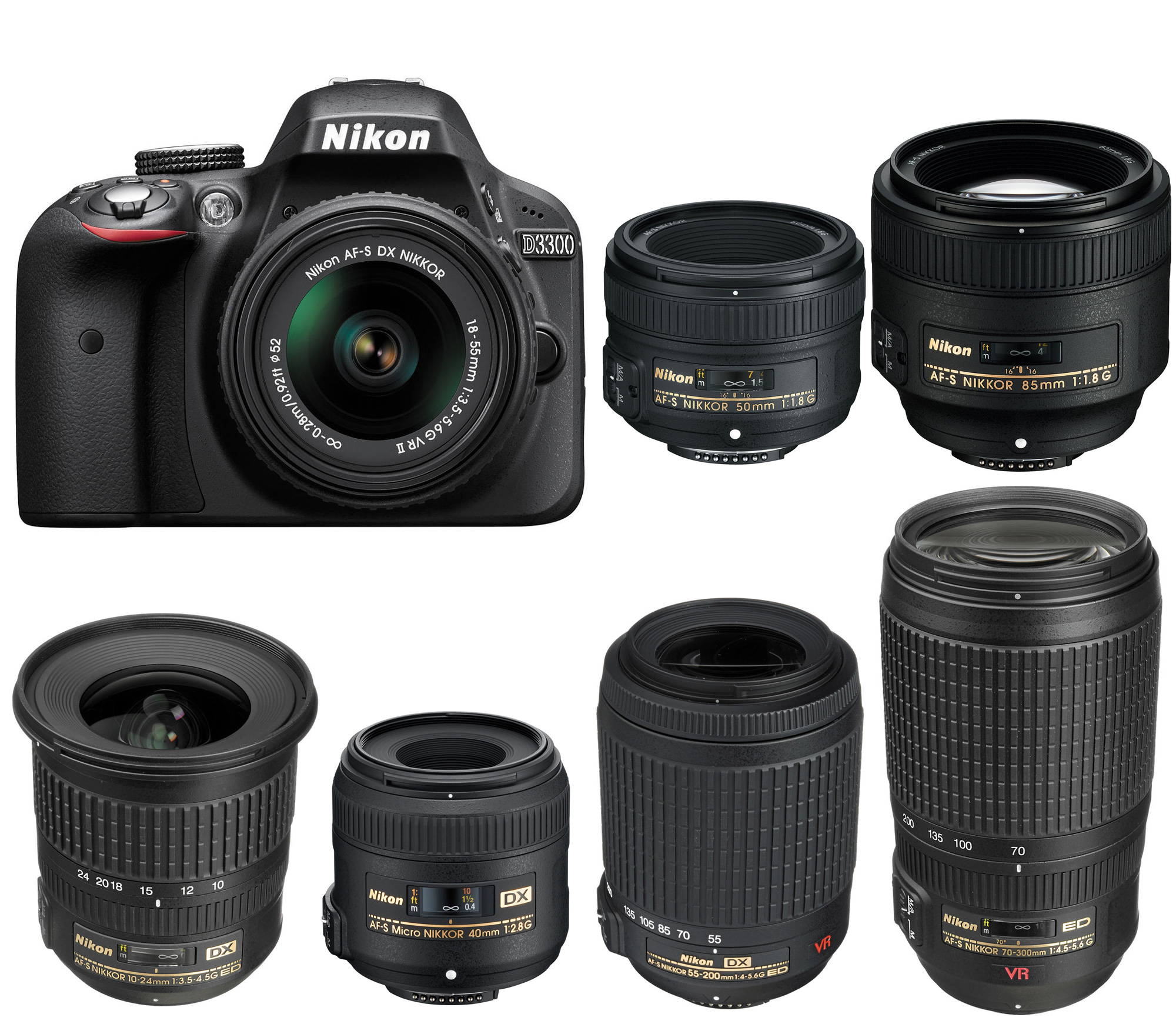 Best Lenses for Nikon D3300 – Camera News at Cameraegg