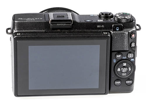 Canon PowerShot G1 X Mark II BACK