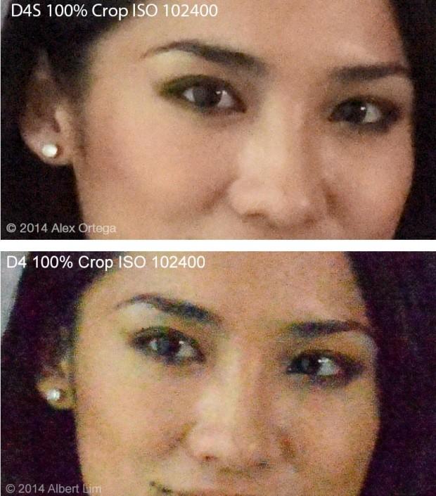 Nikon D4S ISO 102400
