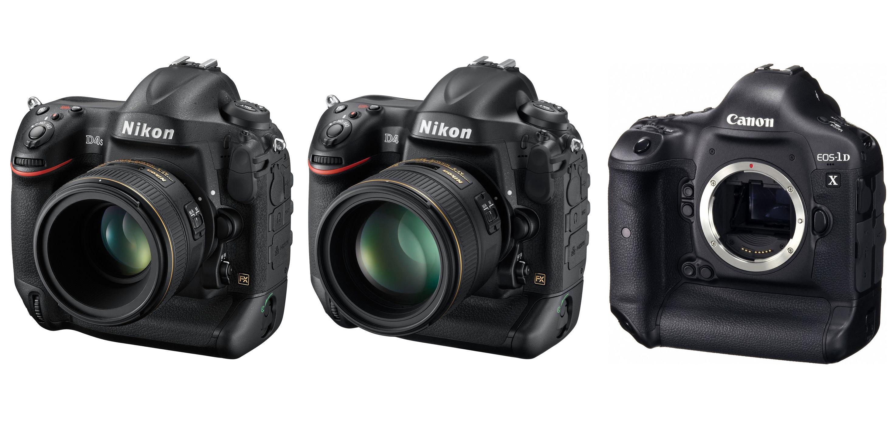尼康d4s和佳能1dx_Nikon D4S Vs. Nikon D4 Vs. Canon EOS-1D X Specs Comparison – Camera News at Cameraegg