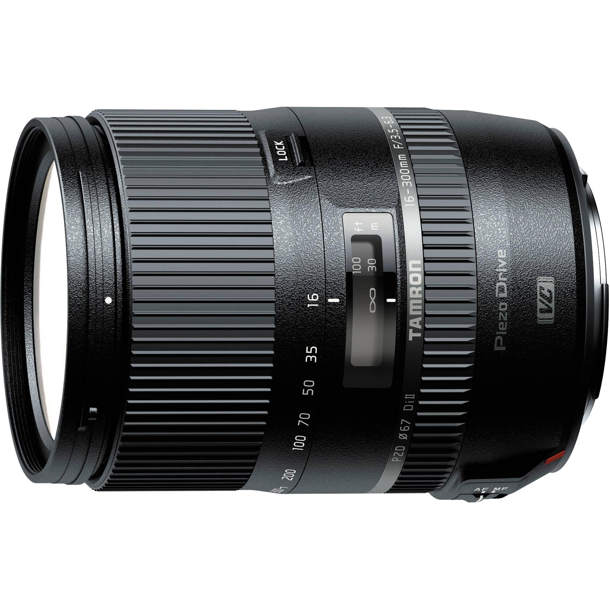 Announced 16-300mm f/3.5-6.3 Di II PZD Macro Lens for APS-C Cameras