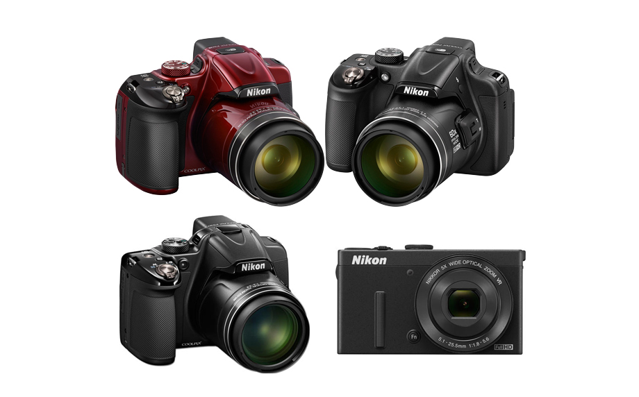The new announced Nikon COOLPIX compact cameras: P600 , P530 , P340