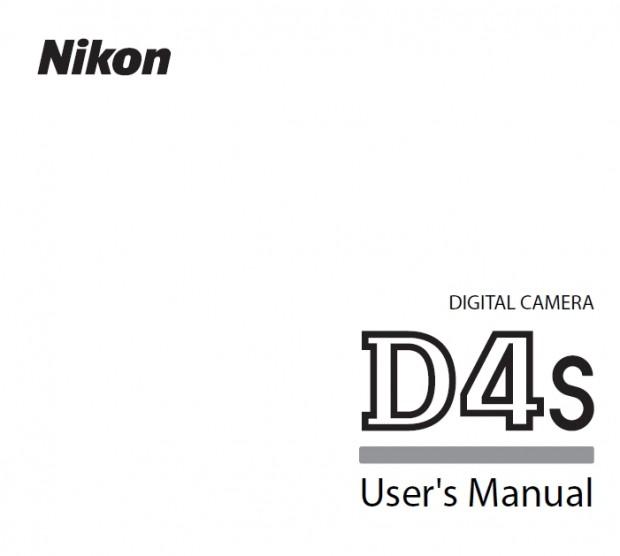 nikon d4s manual