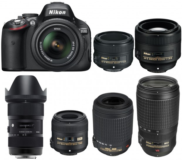 Recommended-Lenses-for-Nikon-D5100
