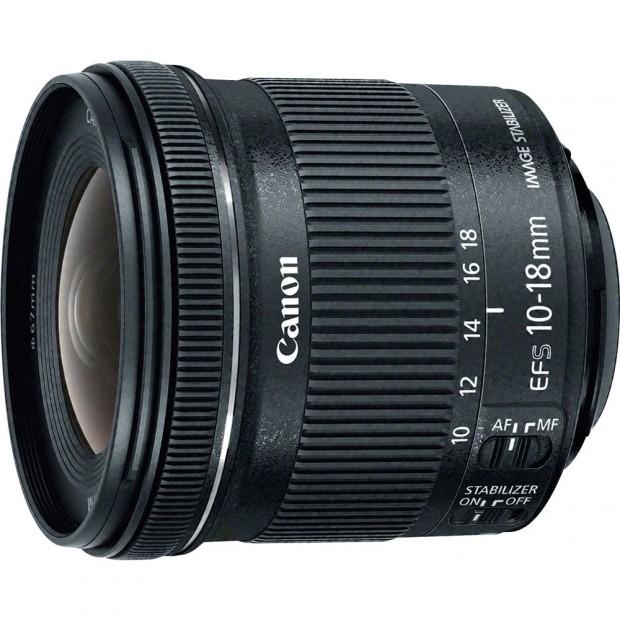 Canon EF-S 10-18mm f 4.5 5.6 is stm lens