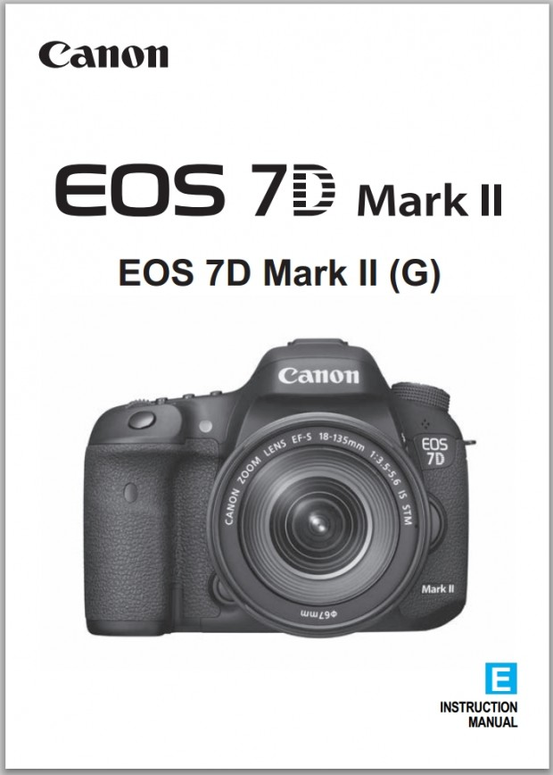 7d mark ii instruction manual