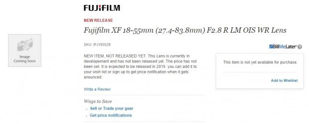 Fujifilm xf 16-55mm
