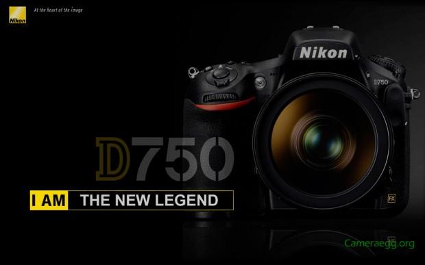 Nikon D750 Mockup