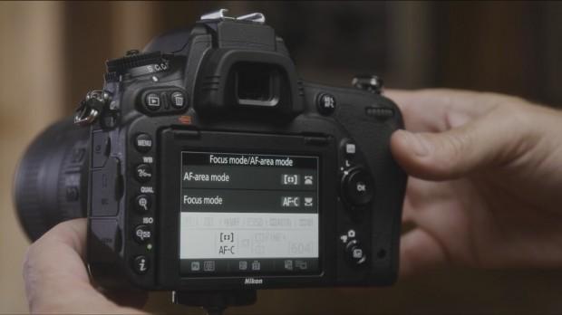 Nikon D750 back