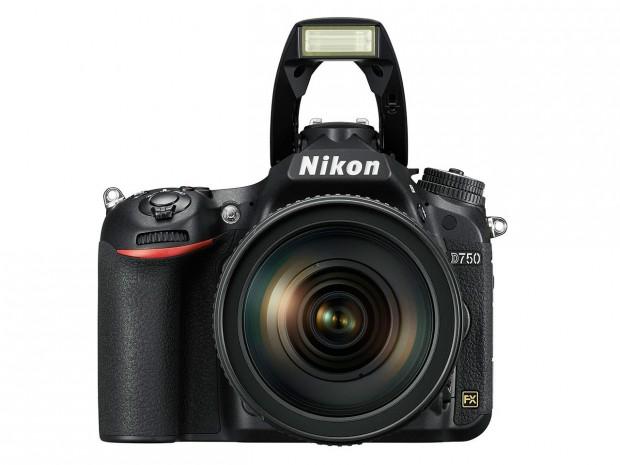 Nikon D750 front