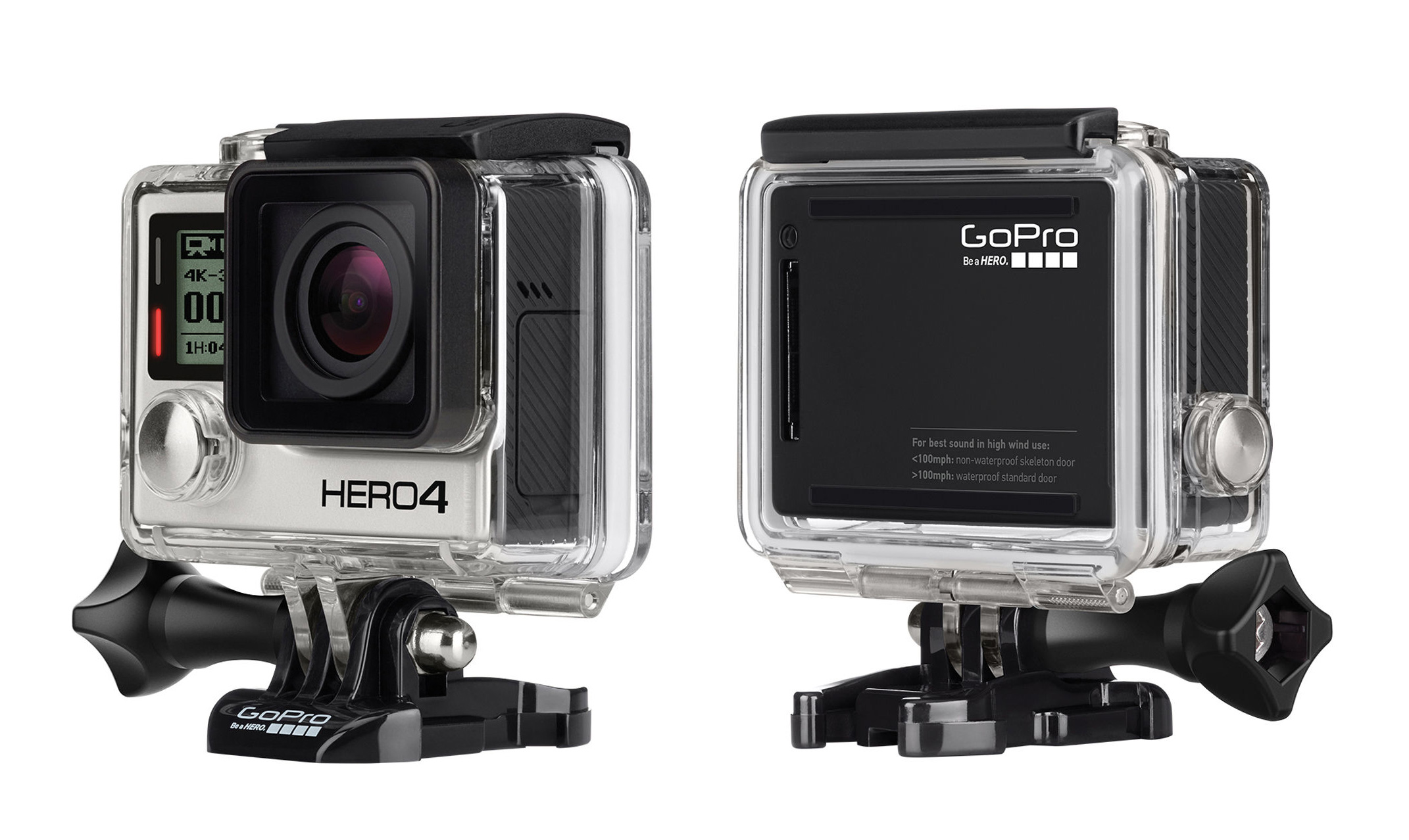 GoPro HERO4 Offers 4K at 30 fps, Price for $499