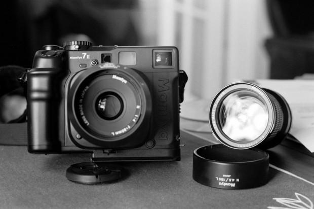Mamiya 7 II Medium Format Rangefinder Manual Focus Camera