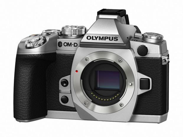 olympus e-m1 silver