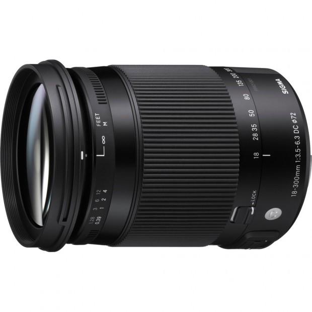sigma 18-300mm macro lens