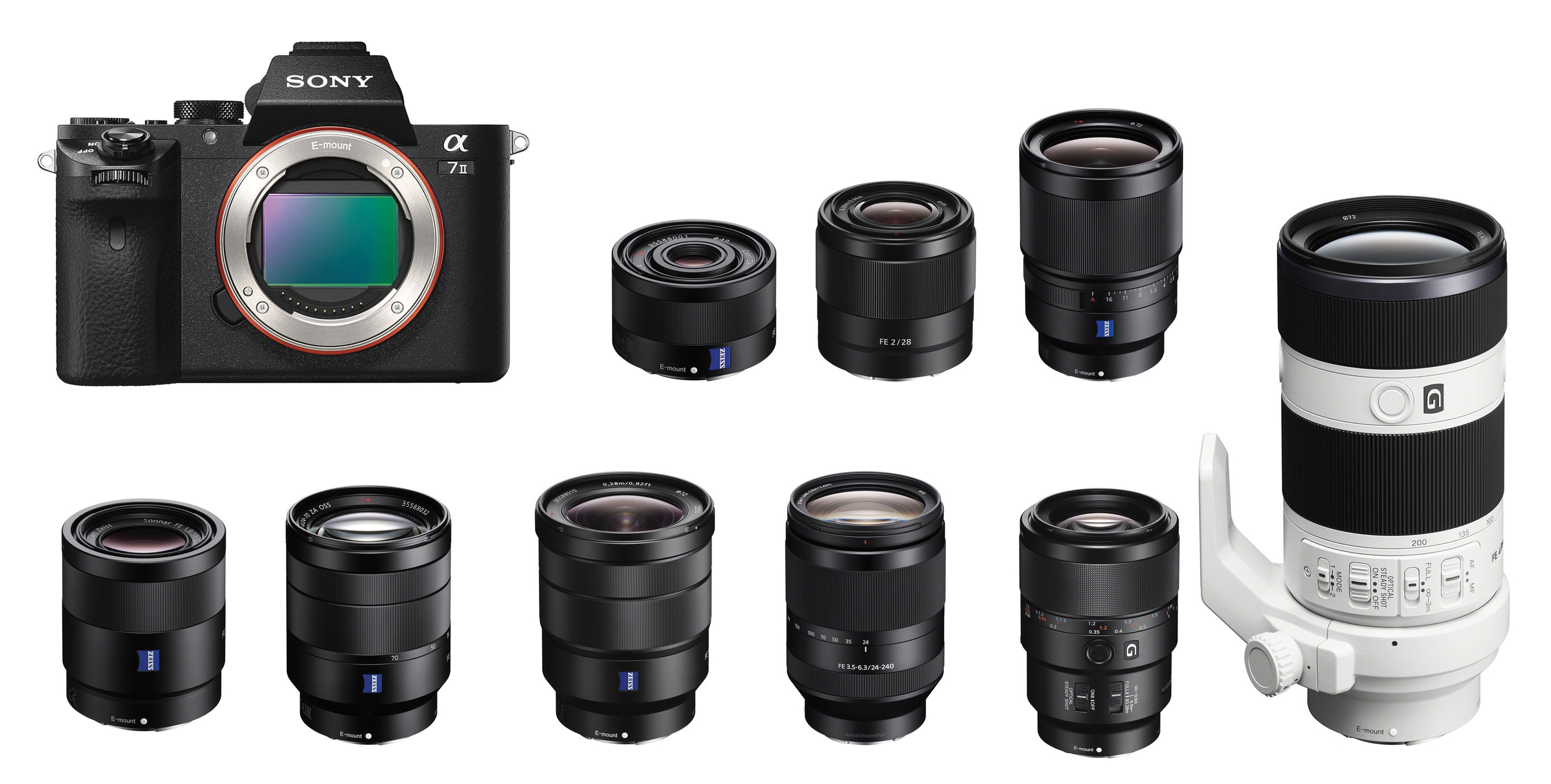 Best Lenses for Sony A7 / A7R / A7 II / A7S | Camera News at Cameraegg