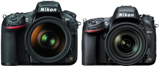Nikon-D810 Nikon-D610