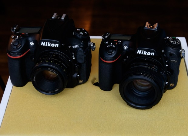 Nikon D810 Nikon D750