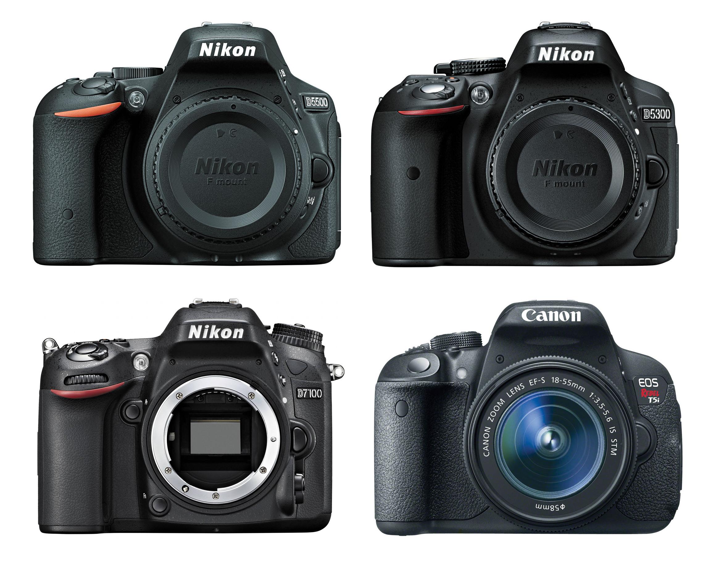 D5500 Nikon vs Canon 760D