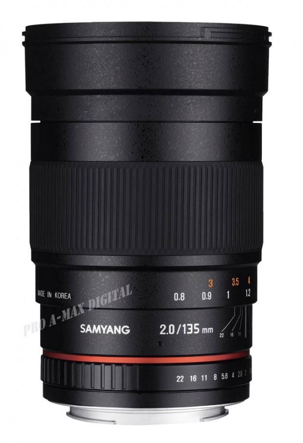 samyang 135mm f 2.0 ed asph full frame lens 1