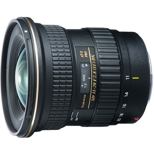 tokina at-x 11-20mm f 2.8 pro dx lens