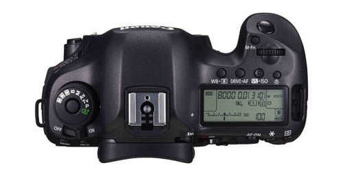 Canon EOS 5Ds R top