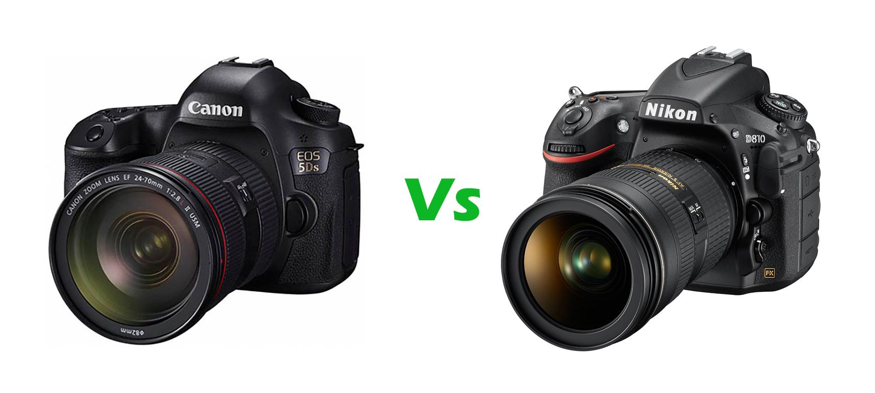 Canon EOS 5Ds Vs Nikon D810