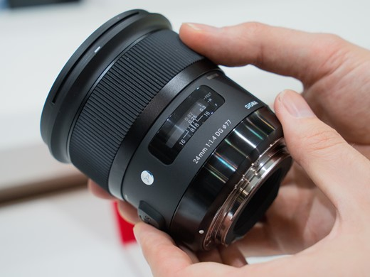 The new Sigma 24mm f/1.4  DG OS HSM Art Lens