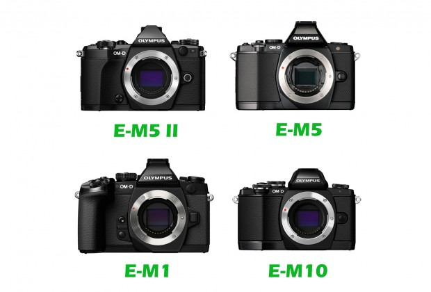 olympus e m5 mark ii vs e m5 vs e m1 vs e m10 specs comparison camera news at cameraegg. Black Bedroom Furniture Sets. Home Design Ideas