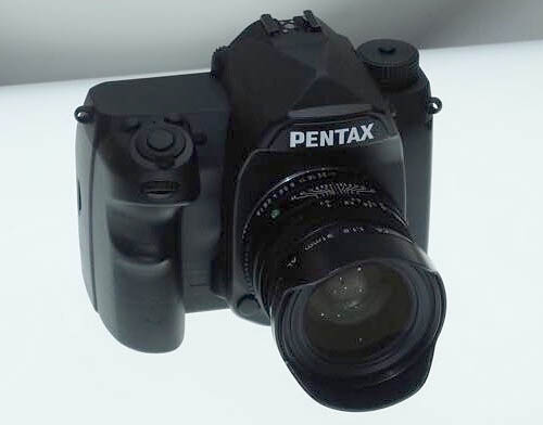 pentax_full frame dslr camera