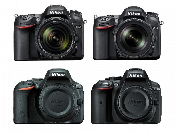 nikon-d7200-vs-d7100-vs-d5500-vs-d5300-specs-comparison