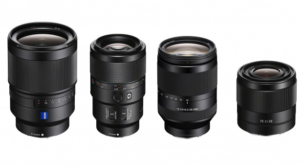 sony new fe lenses