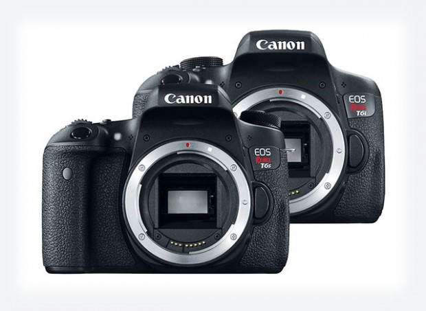 canon t6i t6s