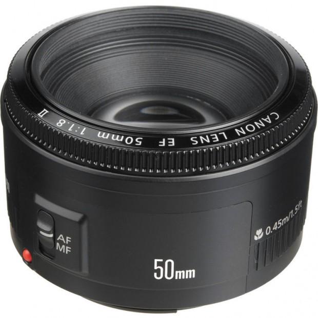 ef 50mm f 1.8 ii lens