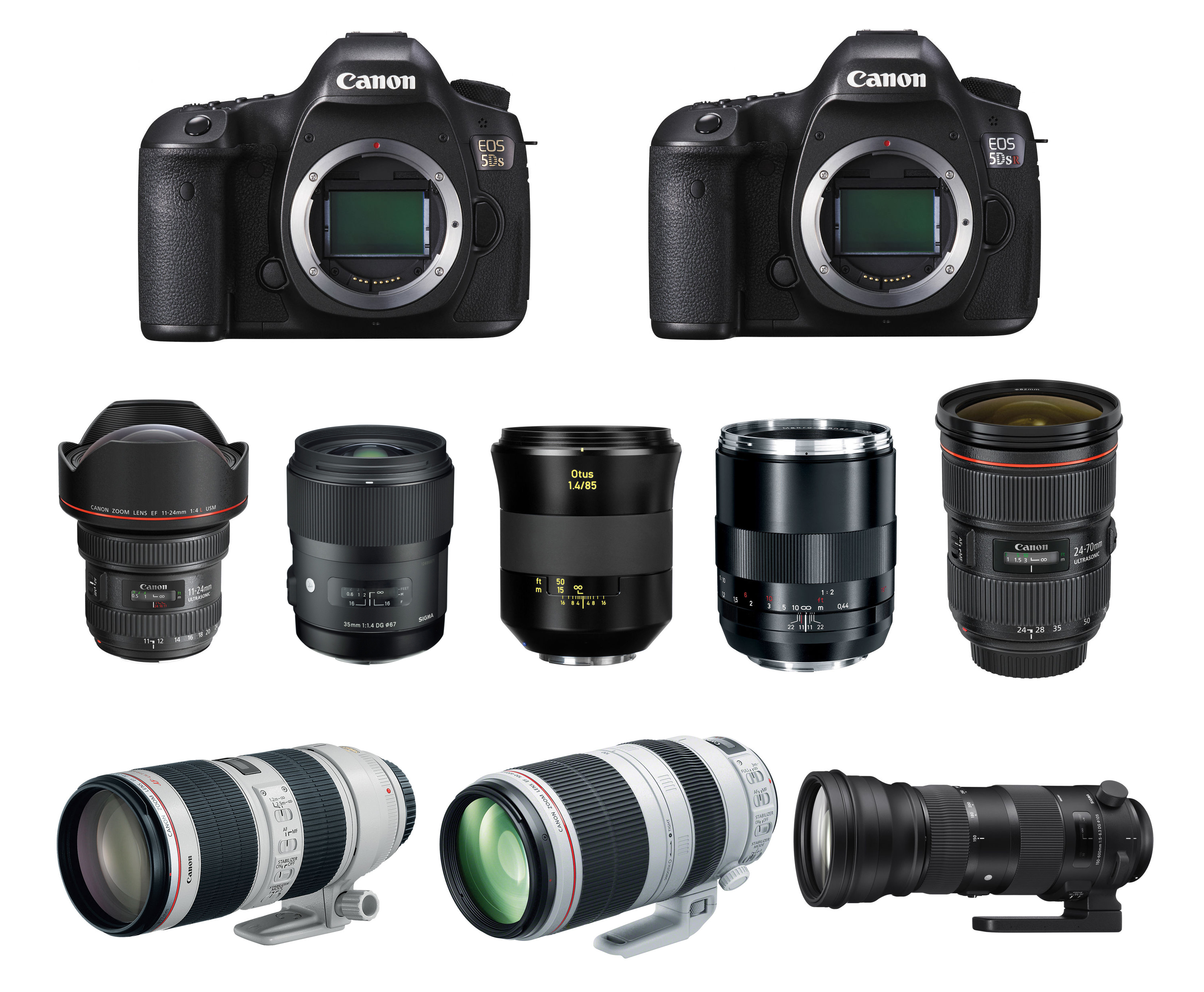Camera Canon Usa Dslr Cameras recommended lenses for canon eos 5ds r according to best 5ds