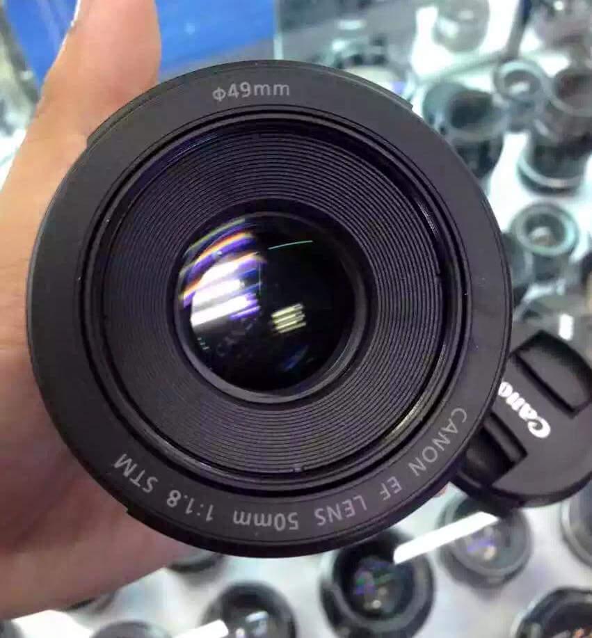 first images specs price of ef 50mm f 1 8 stm lens camera news at cameraegg. Black Bedroom Furniture Sets. Home Design Ideas
