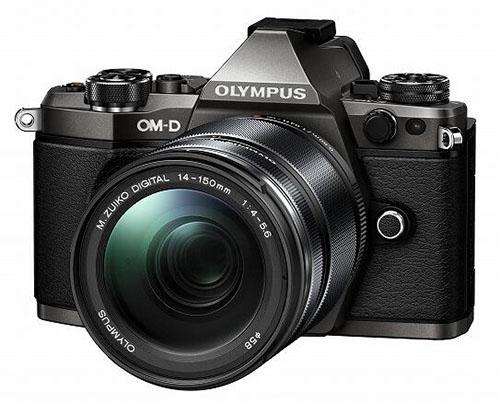 olympus om-d e-m5 mark ii titanium camera
