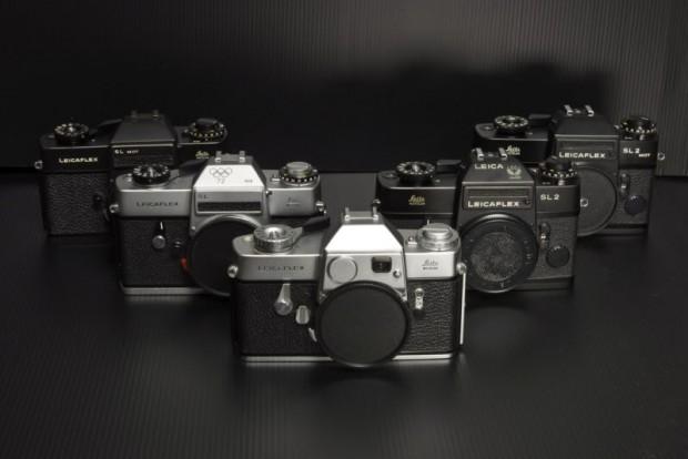 The current Leicaflex SL (on sale on eBay).