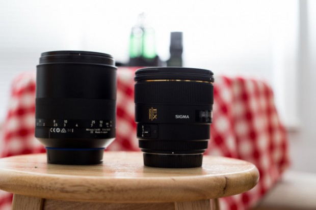 ziess milvus 85mm 1.4 vs sigma 85mm f 1.4