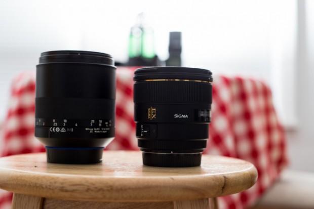 ziess milvus 85mm 1.4 vs sigma 85mm f 1.4