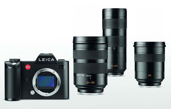 Leica-SL typ 601 lenses