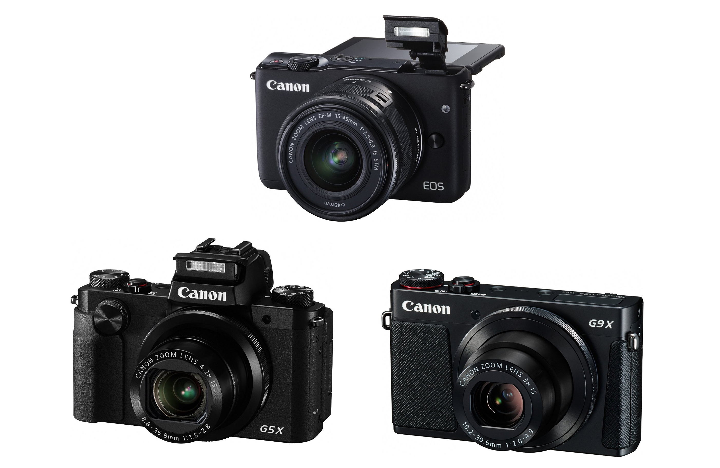 Canon Eos M10 G5 X G7 Announced Available For Pre Order Ef M 15 45mm Is Stm White G9