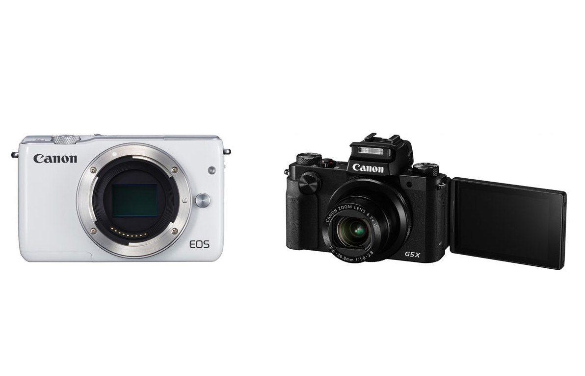 canon eos m10 powershot g5 x already listed on canon usa. Black Bedroom Furniture Sets. Home Design Ideas