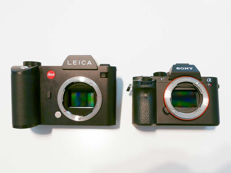 Leica SL Vs. Sony a7RII Vs. Canon 5Ds R Size Comparison | Camera News ...: www.cameraegg.org/leica-sl-vs-sony-a7rii-vs-canon-5ds-r-size...