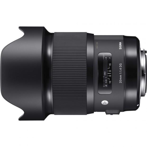 sigma 20mm f 1.4 dg hsm art lens
