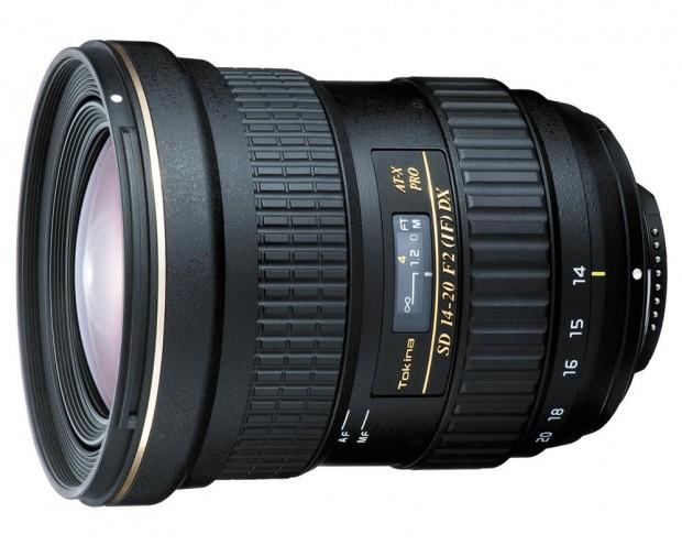 tokina at-x 14-20mm f2 dx lens