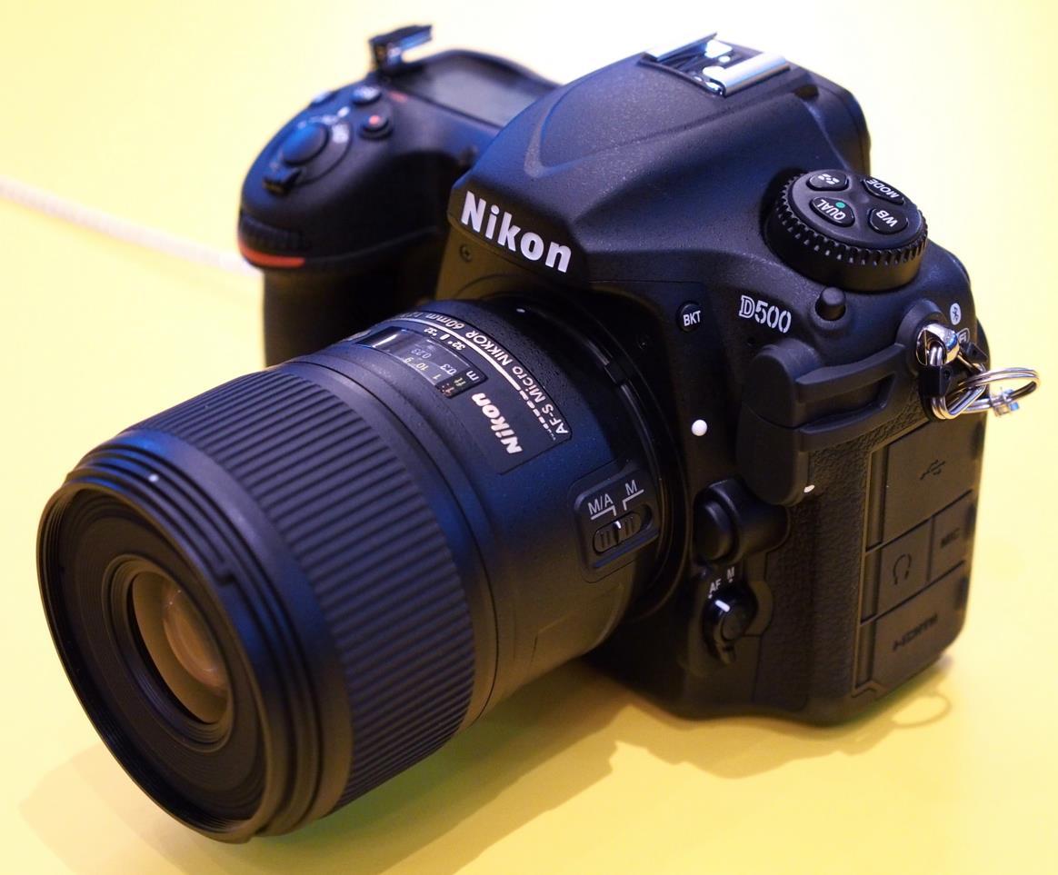 Nikon D500 Firmware Version 1 01 and EN-EL15 battery Li