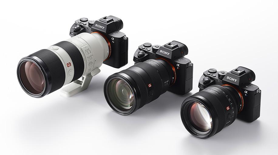 Sony G Master Interchangeable Lenses