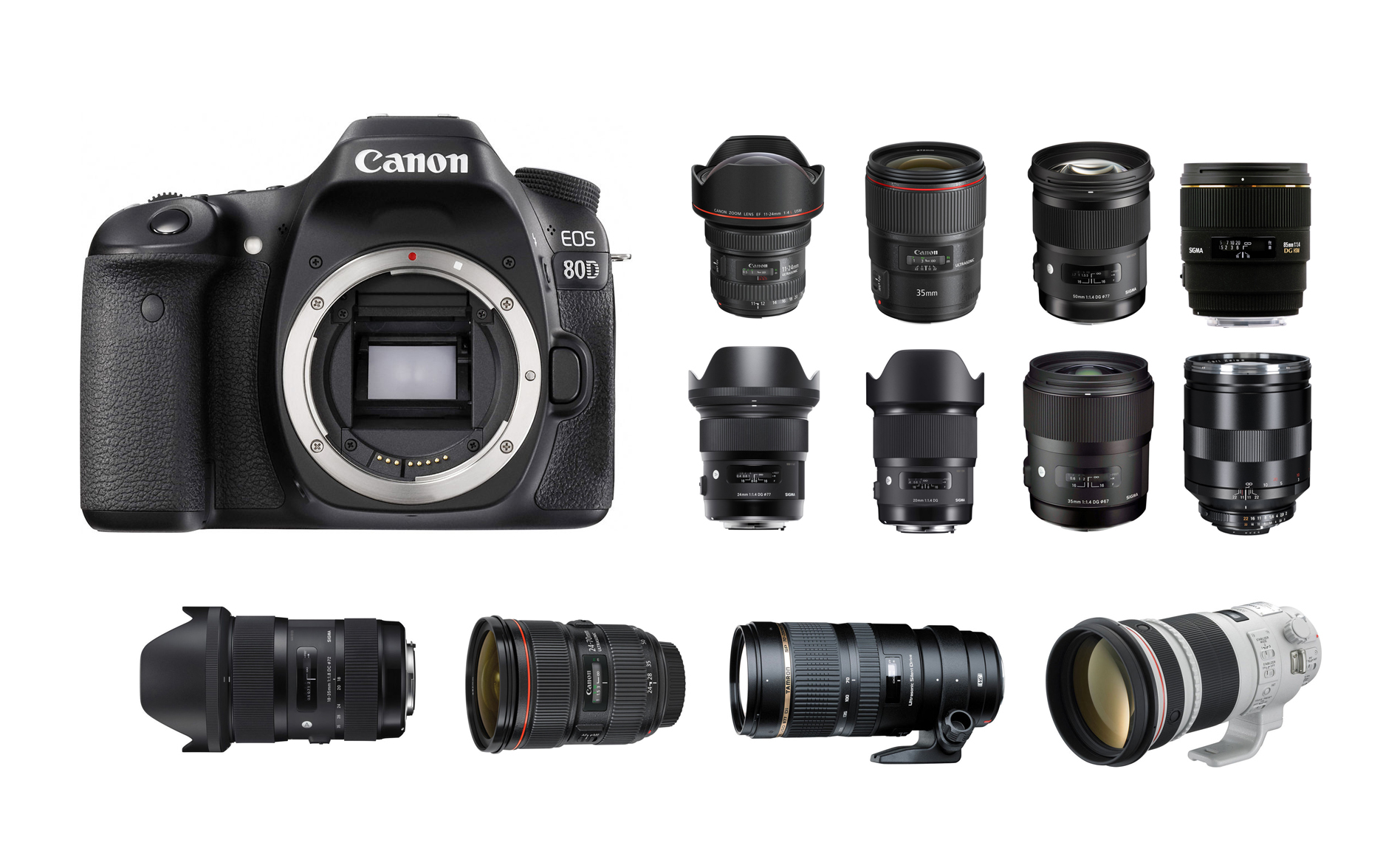 Best Lenses For Canon Eos 80d Camera News At Cameraegg Sigma 50mm F 28 Ex Dg Macro